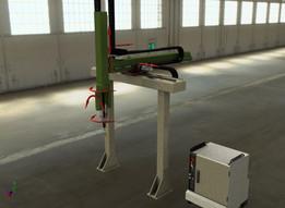 Hybrid Kinematics welding ROBOTS