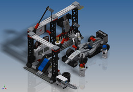 LEGO Speed Champions - McLaren Mercedes Pit Stop (75911)
