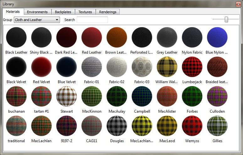 Materials for KeyShot  | 3D CAD Model Library | GrabCAD