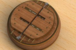 Steampunk Compass Puzzle Box Entry - stnbl