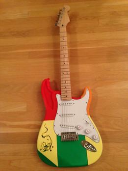 Snapfit 3d Printed Guitar