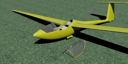PIK-20 sailplan