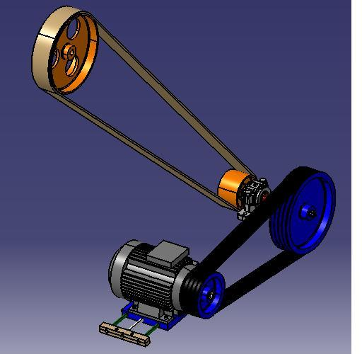 Transmission parts | 3D CAD Model Library | GrabCAD