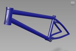BMX frame X Rate v1