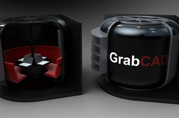 GrabCAD office design