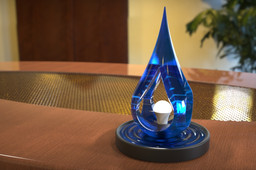 Raindrop lamp