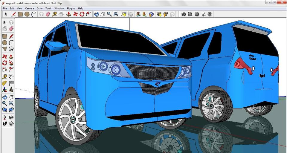 Wagon r 3d cad model library grabcad malvernweather Choice Image