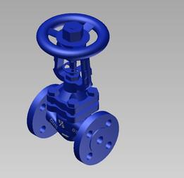 Bellows valve DN15 PN16