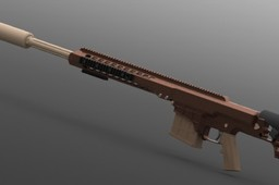 Barrett MRAD .338 (w/ suppressor)