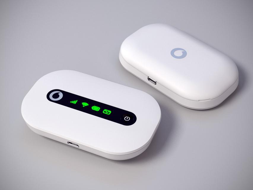 huawei r206 vodafone wifi mifi mobile router gateway 3d. Black Bedroom Furniture Sets. Home Design Ideas