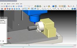 Mazak VTC300C Mazatrol 640M 4axis Solidcam-SolidWorks