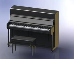 SolidWorks Piano