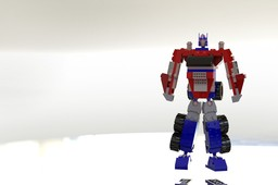 KREO Transformers Optimus Prime