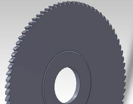 Slitting saw blade
