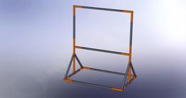Banner-ad frame, modular