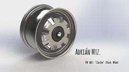 "VW MK1 Golf Stock Wheel ""Caribe"""
