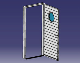 Porte d'entrée 215-90