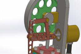 Vertical Stirling Motor