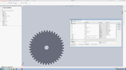 Parametric involute gear