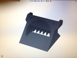 Fandock for 3dprinter 40x40