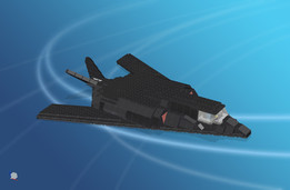 F-117 Nighthawk, LEGO bricks