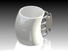 Cup with nice handle