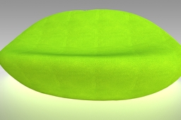 Inflatable Lemon Couch
