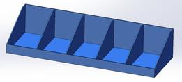 Blue Trays