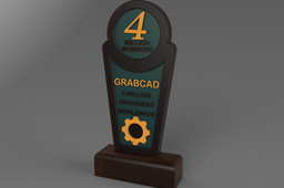 GRABCAD Trophy Design Challange