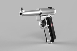 "Ruger KMKIII6 Stainless Steel .22 Automatic Pistol with 6"" Barrel"
