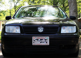 VW Autobot (Transformers) Grill Badge