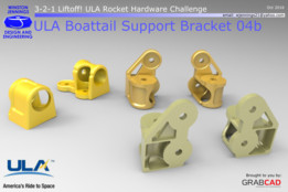 ULA Boattail Support Bracket 04b
