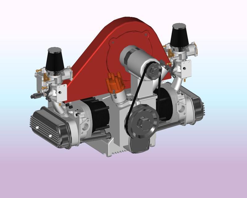VW_Motor | 3D CAD Model Library | GrabCADGrabCAD