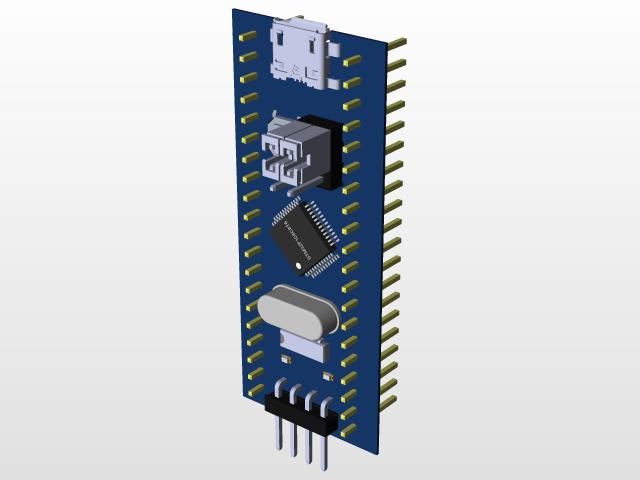STM32f103 | 3D CAD Model Library | GrabCAD