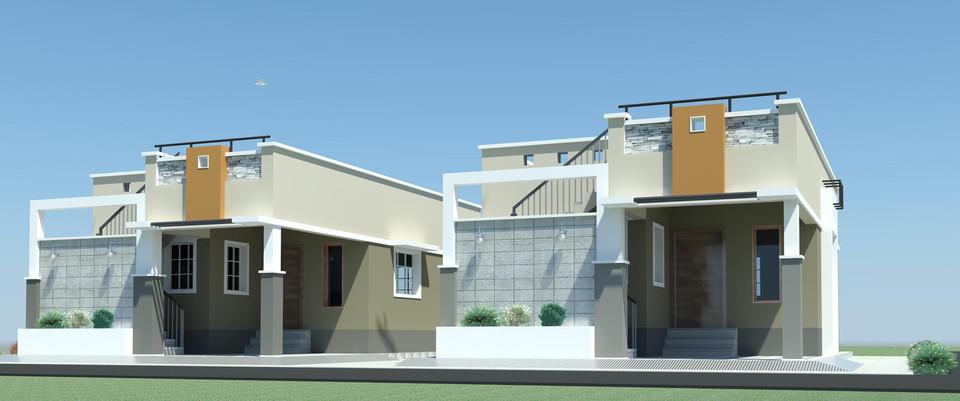Revit Building Elevation : Revit villa model elevation d cad library grabcad