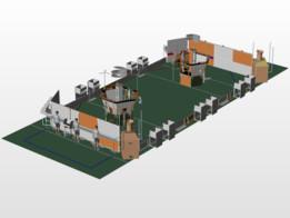 FRC 2017 SteamWorks Field CAD