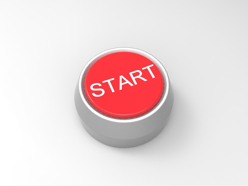 Start Button | 3D CAD Model Library | GrabCAD