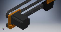 Linear Actuator/Slide Belt Driven