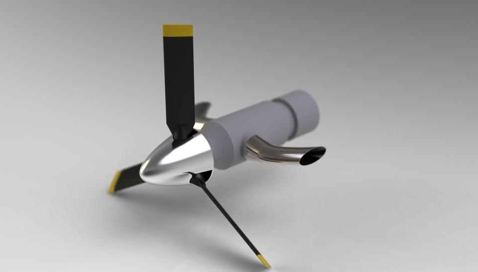 Turbo Prop   3D CAD Model Library   GrabCAD