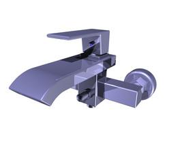 Bath faucet modern