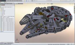LEGO - StarWars Millennium Falcon (75105)