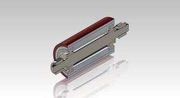 Rolete Aluminio Emborrachado