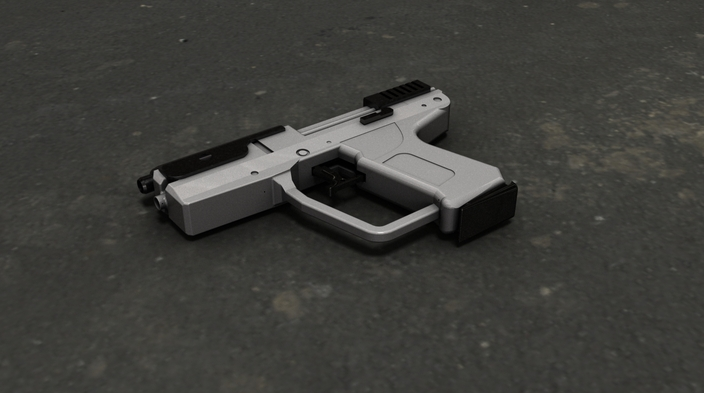 Halo Magnum for 3D Print