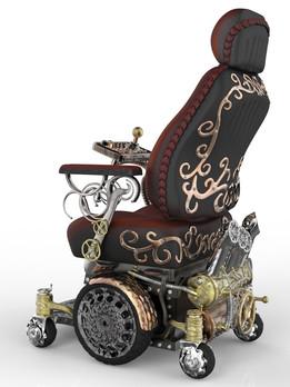 SteamPunk Wheelchair for Kyron!