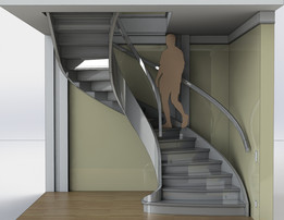 staircase - Recent models | 3D CAD Model Collection