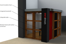 Modular Portable GrabCAD Office