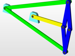 Peauceller Exact Straight Line Linkage
