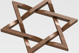 Knotted Star of David