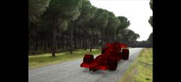 Toy F1 car