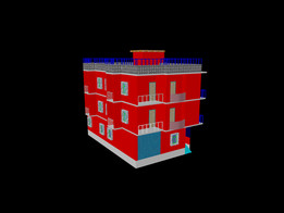 A 3D PROJECT OF 3 ROOM PLAN WITH ELEVATION AND DESIGN